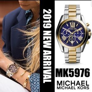 **NEW** MICHAEL KORS MK-5976 UNISEX CHRONO